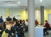 Татяна Дончева изнесе лекция на студенти
