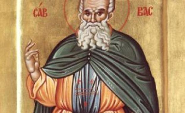 Житие на св. Сава Освещени Свети Сава, основателят на много