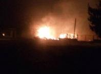 Влак с цистерни се взриви край Хитрино