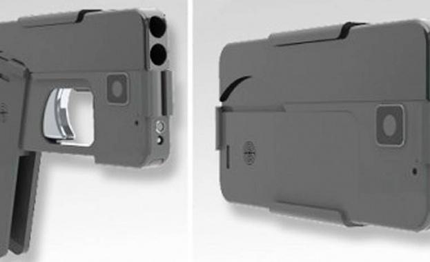 Американска компания пусна на пазара пистолет, приличащ на смартфон