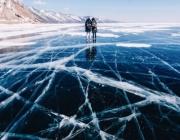 Езерото Байкал замръзна (Видео)