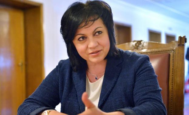 Корнелия Нинова: Аз не съм Бойко Борисов да нареждам със sms-и