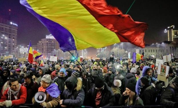 Поредна вечер на протести в Румъния