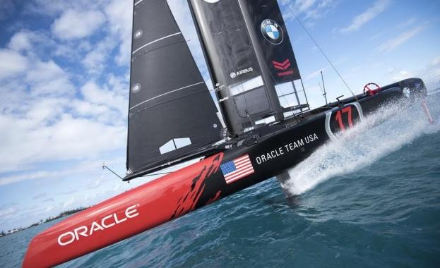 ОRACLE TEAM USA и Airbus: Загрявка за финалното състезание Нова, летяща АС Сlass яхта бележи две години успешни иновации