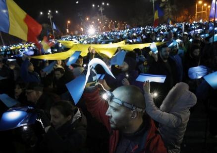 Пореден многохиляден антиправителствен протест в Румъния