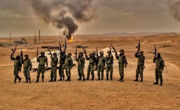 """""""Ловците на ИДИЛ"""", обучени от Русия, унищожават терористи край Палмира"""