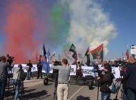"""Протест на патриотите срещу """"изборния туризъм"""" от Турция"""