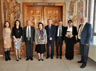 Посещение на посланика на Република Азербайджан в България Н. Пр. Наргиз Гурбанова във Великотърновския университет