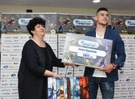"""Победителите в шестия общонационален конкурс за Спортни таланти на """"Еврофутбол"""