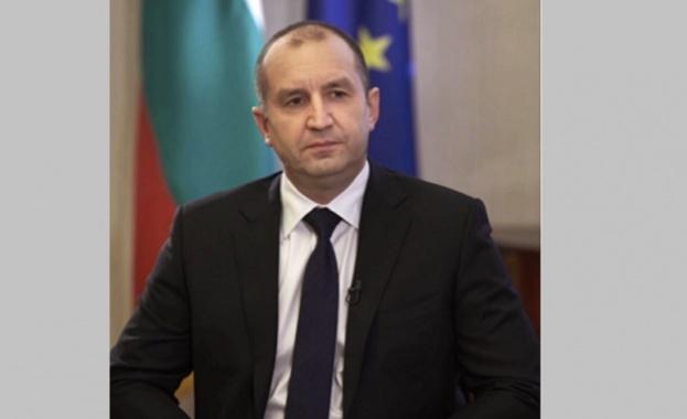 Президентът Румен Радев и главният инспектор на Инспектората към ВСС