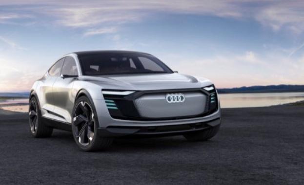 """""""Ауди"""" показа бъдещия си първи изцяло електрически автомобил"""