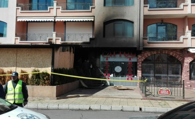 Четирима са подпалвачите на злополучния ресторант в Слънчев бряг