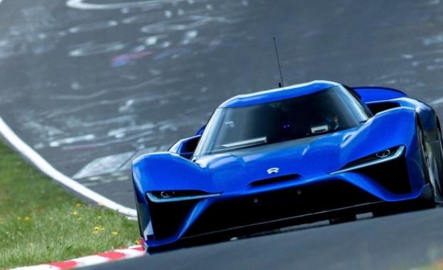 Най-бързият електрически автомобил се оказа китайски