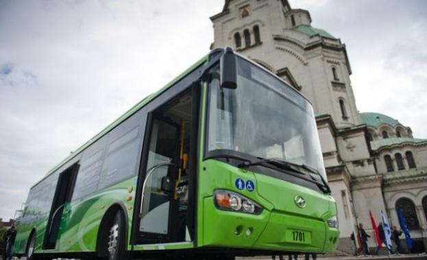 Нов електробус тръгва по улиците на София