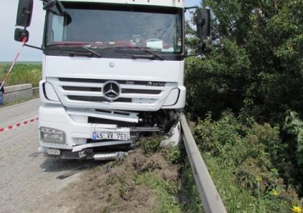 Затвориха Ришкият проход за движение заради инцидент с товарен камион