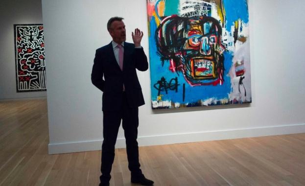 Продадоха картина на Баския за 110 милиона долара