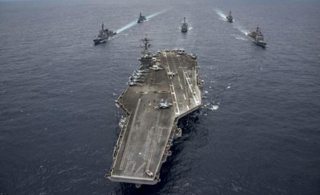 САЩ изпратиха към Корейския полуостров втори самолетоносач