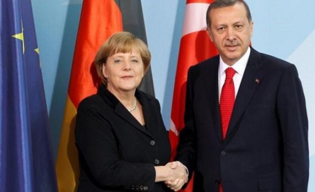 Ердоган отива на среща с Меркел