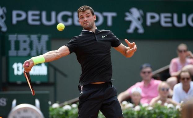Григор Димитров започна с убедителна победа участието си на турнира