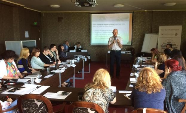 Швейцарски експерти обучават медиатори от страната за работа с деца в конфликт със закона