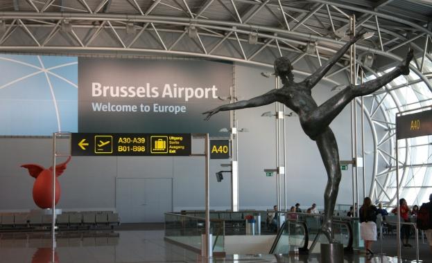 Достъпът до международното летище на белгийската столица Брюксел е блокиран