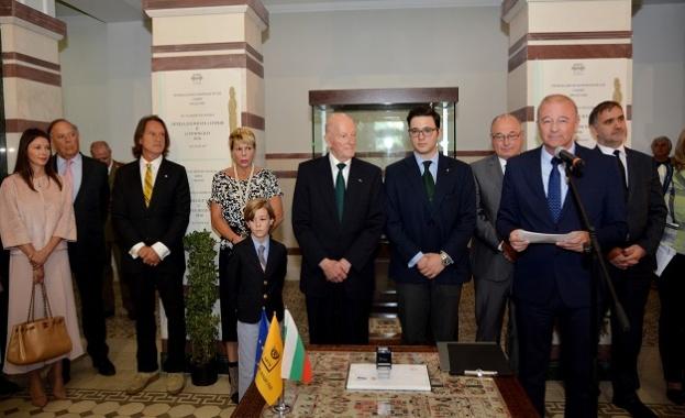 Заместник-министърът на транспорта, информационните технологии и съобщенията Ангел Попов, Симеон