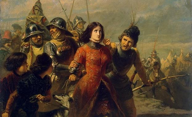1429 г. - Френските сили под командването на Жана д`Арк