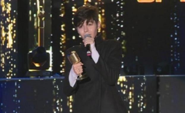 Кристиан Костов- победител в годишните музикални награди на БГ радио