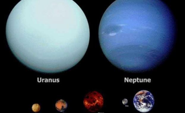 Уран и Нептун никога не са били във фокуса на