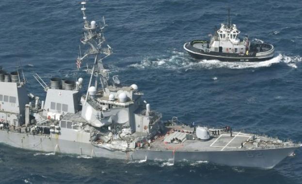 Открити са телата на издирваните моряци от американския разрушител