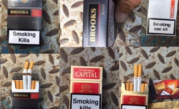 """Задържаха цигари без бандерол за 200 хиляди лева в столичния квартал """"Христо Ботев"""""""