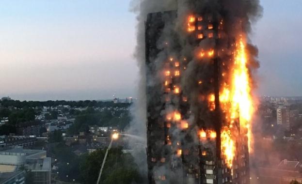 Броят на жертвите от пожара в Лондон стана 79