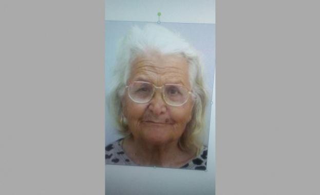 Възрастна жена от бургаския комплекс
