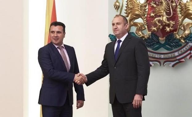 Румен Радев: Време е България и Република Македония да обърнат нова страница в отношенията си