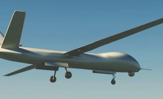 Снимка: Американски изтребител свали сирийски дрон
