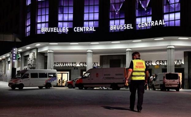 Атентаторът на Централната гара в Брюксел е мъртъв, съобщи белгийската