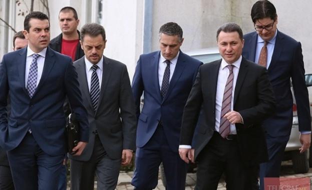 Министър-председателят на Македония Зоран Заев, придружен от правителствена делегация, се