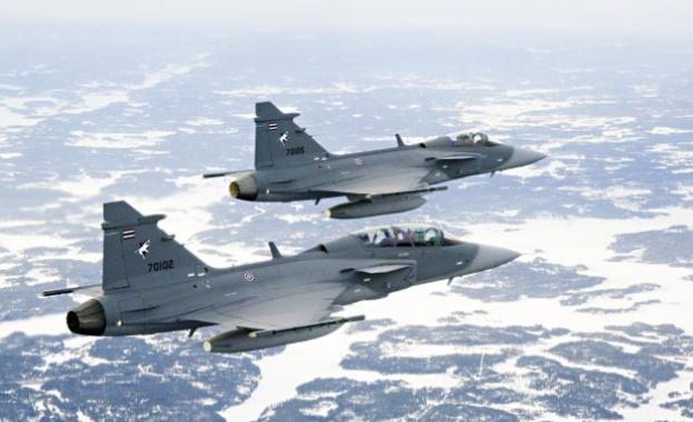 """Снимка: Модернизираме военновъздушните сили с изтребител """"Грипен"""""""