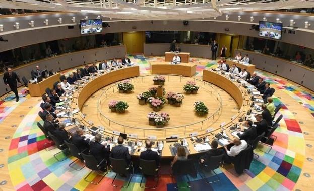 Участниците на срещата на върха на Европейския съюз, която се