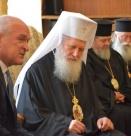 Патриарх Неофит на среща с председателя на НС