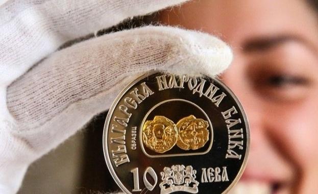 БНБ пусна нова българска възпоменателна монета на хан Тервел. Сребърната