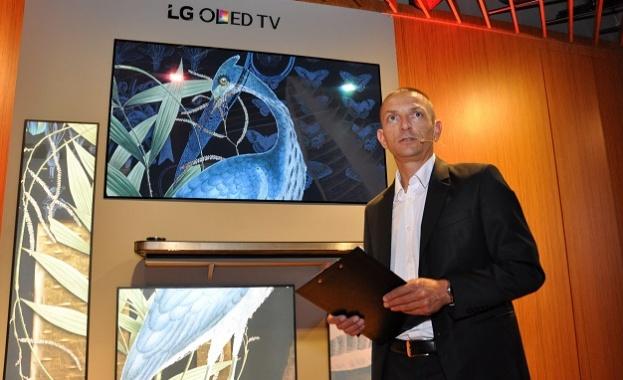 Снимка: LG представи телевизорите на бъдещето в България