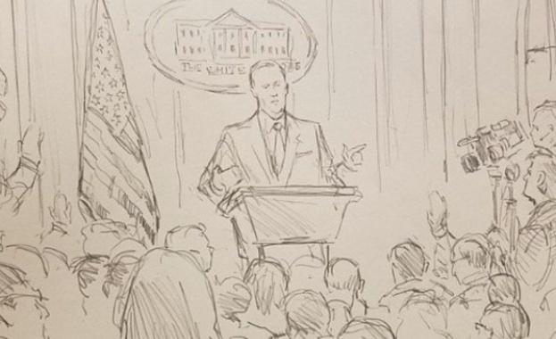 Пресконференциите в Белия дом вече няма да бъдат заснемани. Забраната