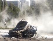 Кола-бомба уби един от лидерите на разузнаването в Киев (видео)