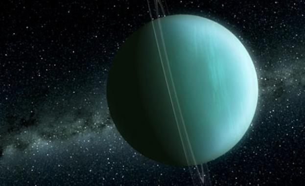 Магнитното поле на Уран е хаотична бъркотия - гигантската планета