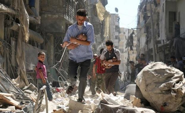 При атака с касетъчни бомби срещу контролирано от ДАЕШ (