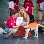 """Мтел и фондация """"Очи на четири лапи"""" обучават рекорден брой кучета водачи"""