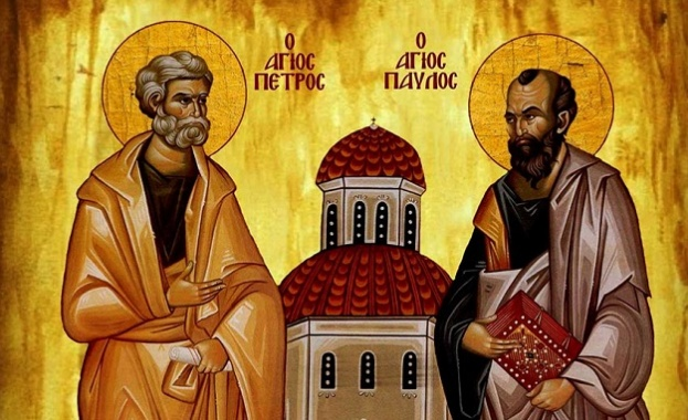 Светата църква чествува едновременно паметта на великите апостоли Петър и