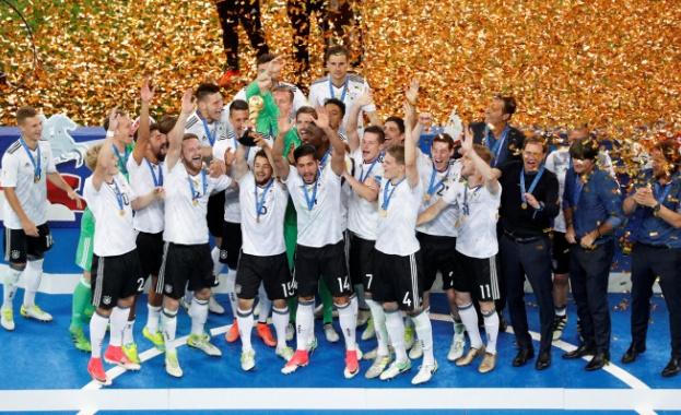 Германия спечели Купата на конфедерациите за първи път в своята