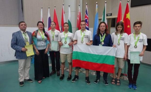Приключи успешно участието на българския национален отбор по природни науки